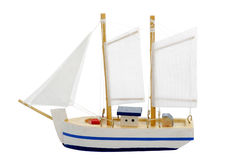Toy sailing boat Royalty Free Stock Photos