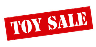Toy sale Royalty Free Stock Photo
