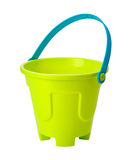 Toy Sand Pail (clipping path) Stock Photos