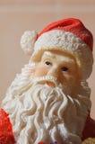 Toy Santa portrait Stock Photo