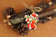 Toy Santa Stock Images