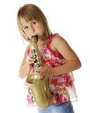 Toy Sax Tooter Stock Photos
