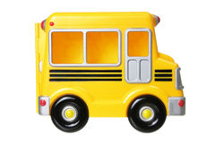 Toy School Bus Stock Photography