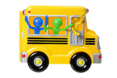 Toy School Bus Stock Photo