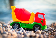 Toy at the seaside Royalty Free Stock Image