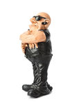 Toy security guard stock images
