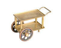 Toy serving table on wheels Stock Photography