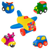 Toy set vector Stock Image