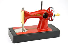 Toy sewing machine Stock Photos