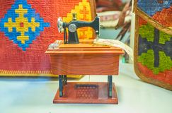 The toy sewing machine Royalty Free Stock Image