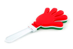 Toy in the shape of hand to make noise Stock Photography