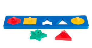 Toy shape puzzle Stock Image