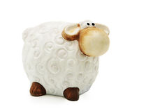 Toy sheep Stock Image