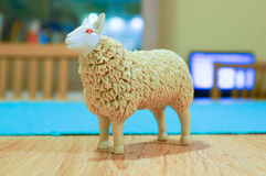 Toy sheep Stock Images