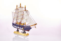 Toy ship Stock Photography