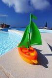 Toy Ship Pool Royalty Free Stock Photos