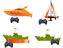 Toy ships Royalty Free Stock Photo