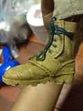 Toy Shoes for model 12inch. Accessories for your military model Stock Photography