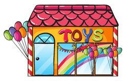 A toy shop Royalty Free Stock Images
