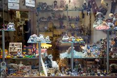 Toy shop or toy store Royalty Free Stock Photo