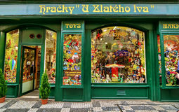 Toy Shop. Toys shop in Prague, Czech Republic royalty free stock photography