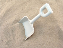 Toy shovel Stock Images