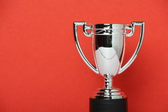 Toy Silver Trophy Cup Royalty Free Stock Photography