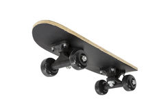 Toy Skateboard Wheels. And underside isolated with clipping path Stock Photo