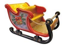 Toy sleigh Royalty Free Stock Photos