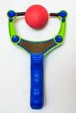 Toy Slingshot Royalty-vrije Stock Foto's
