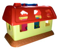 Toy small house Royalty Free Stock Images