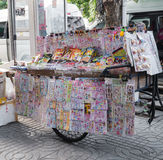 Toy and snack street cart Stock Photo