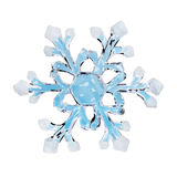 Toy snowflake Stock Photo