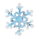 Toy snowflake Royalty Free Stock Image
