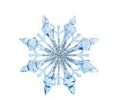 Toy snowflake Royalty Free Stock Photos
