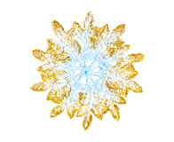 Toy snowflake Stock Images