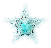 Toy snowflake Stock Photography