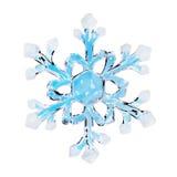 Toy snowflake Royalty Free Stock Photo
