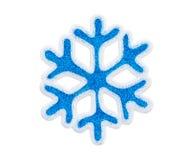 Toy snowflake Stock Photos
