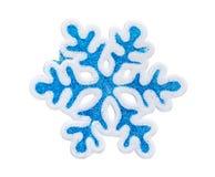 Toy snowflake Royalty Free Stock Image
