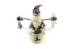 Toy snowman Stock Image