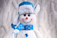 Toy snowman Royalty Free Stock Images