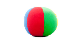Toy soccer ball Royalty Free Stock Image