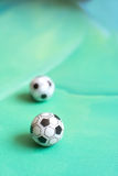 Toy soccer footballs Royalty Free Stock Photo