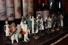 Toy soldaten royaltyfri bild