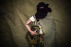 Toy soldaten Fotografering för Bildbyråer