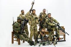 Toy soldaten Royaltyfri Fotografi