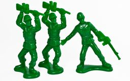 Toy soldier Royalty Free Stock Images