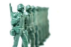 Toy soldier Stock Image
