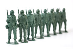 Toy soldier Royalty Free Stock Image